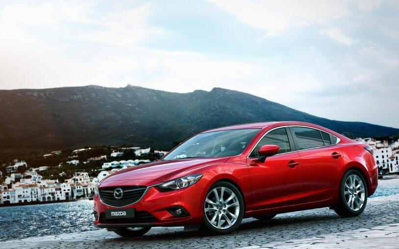 Mazda6 - Vue de profil