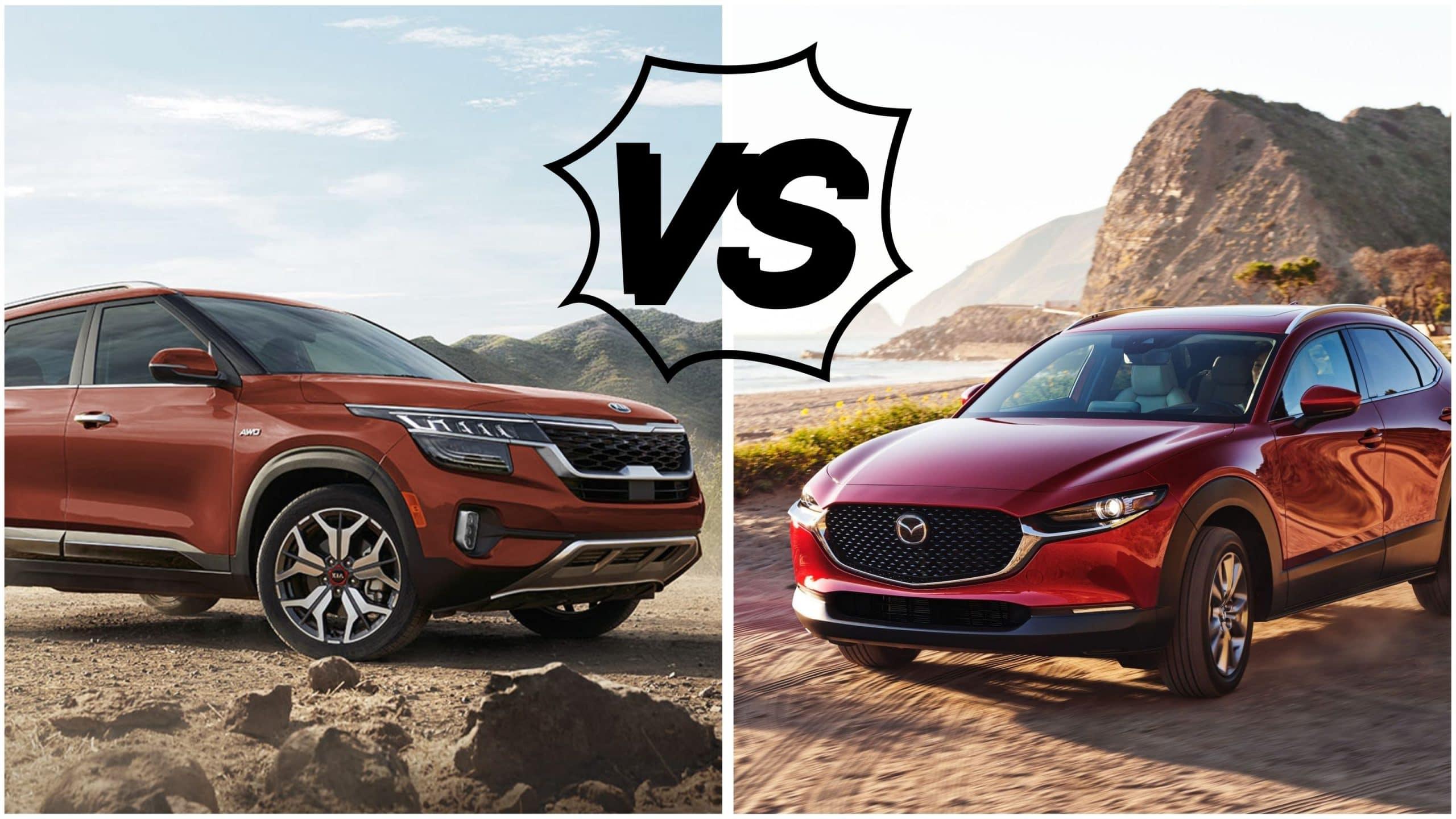 Kia Seltos 2021 vs Mazda CX-30 2021 | Laurier Mazda