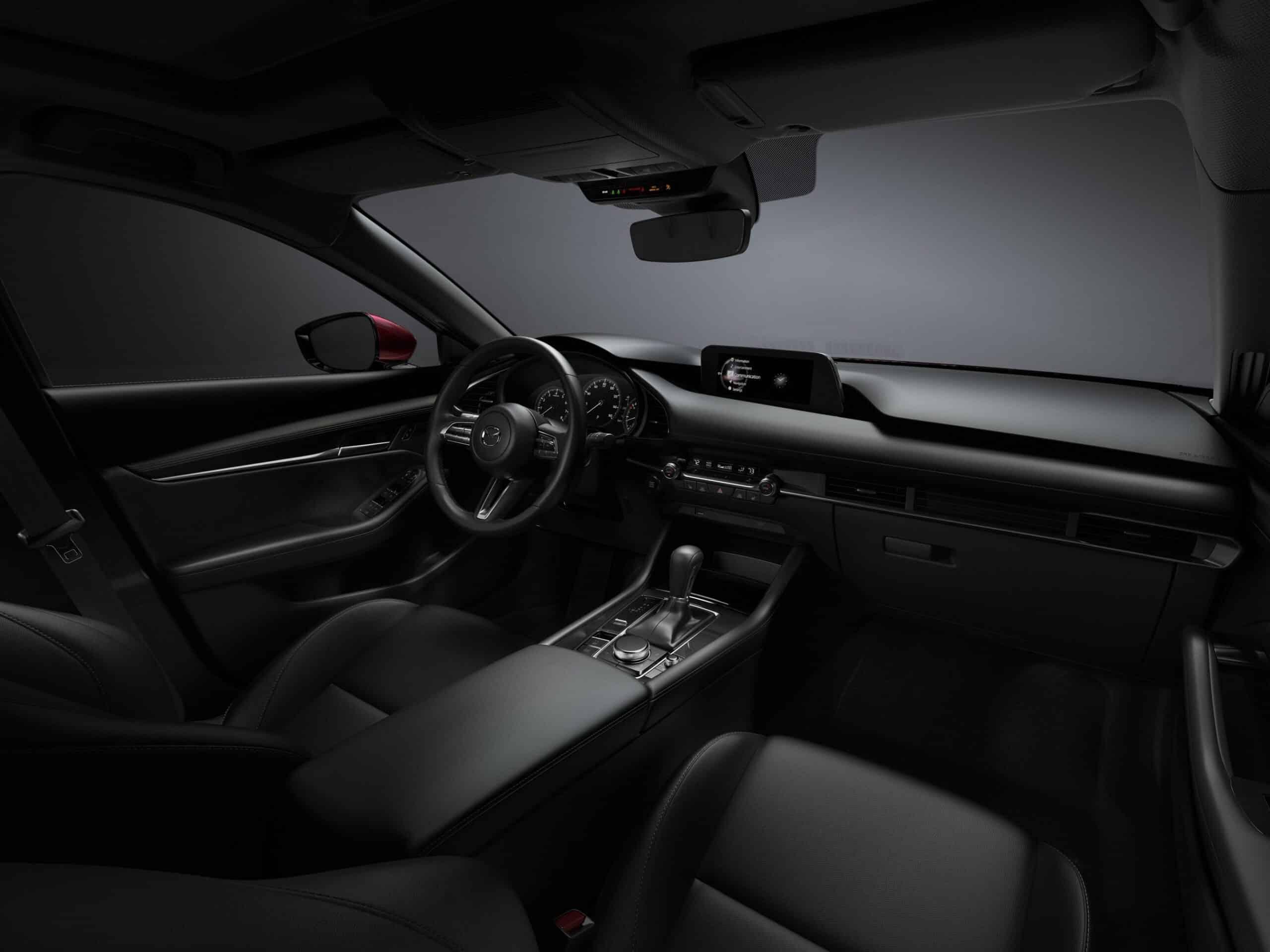Intérieur de la Mazda3 2020