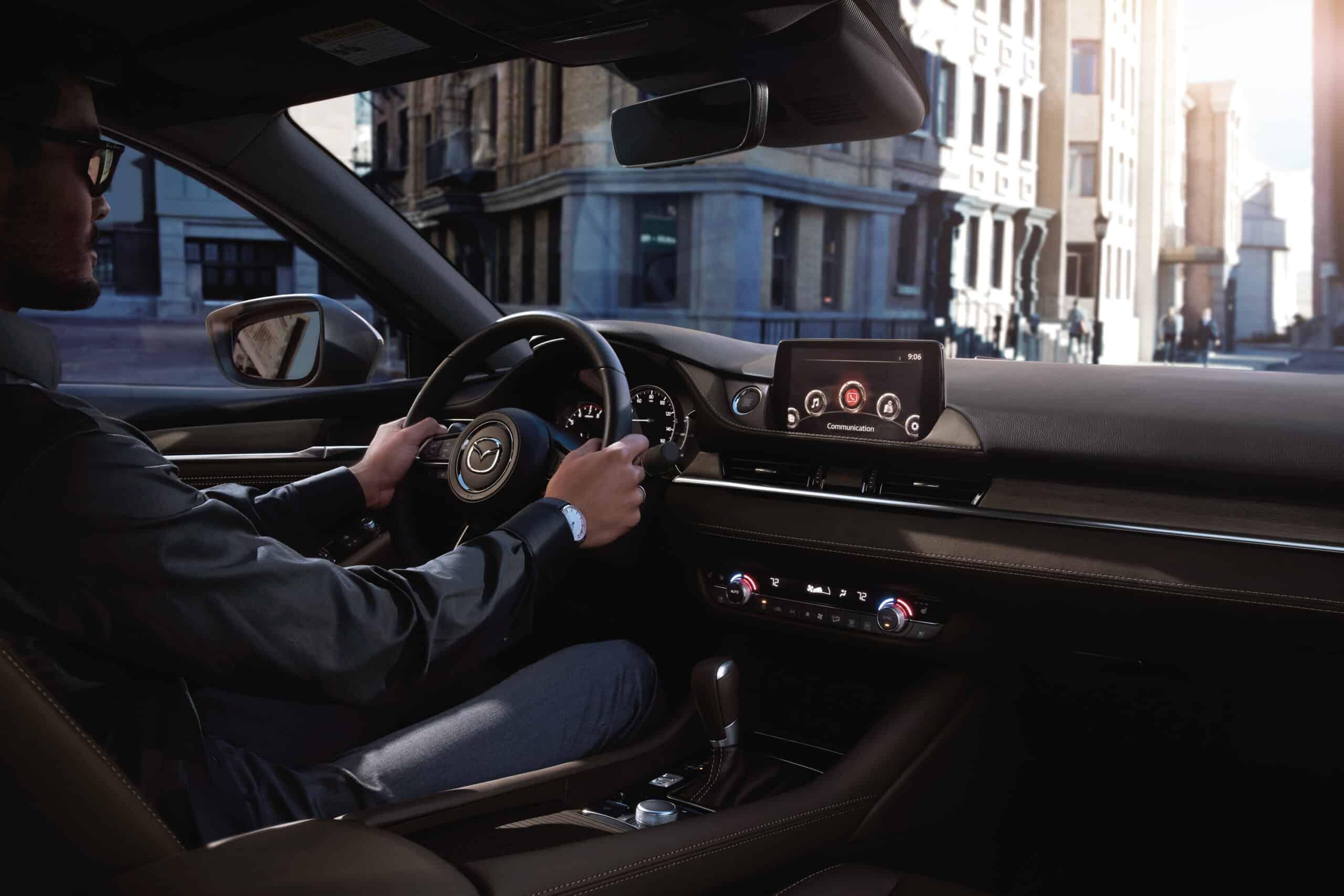 Intérieur de la Mazda6 2020