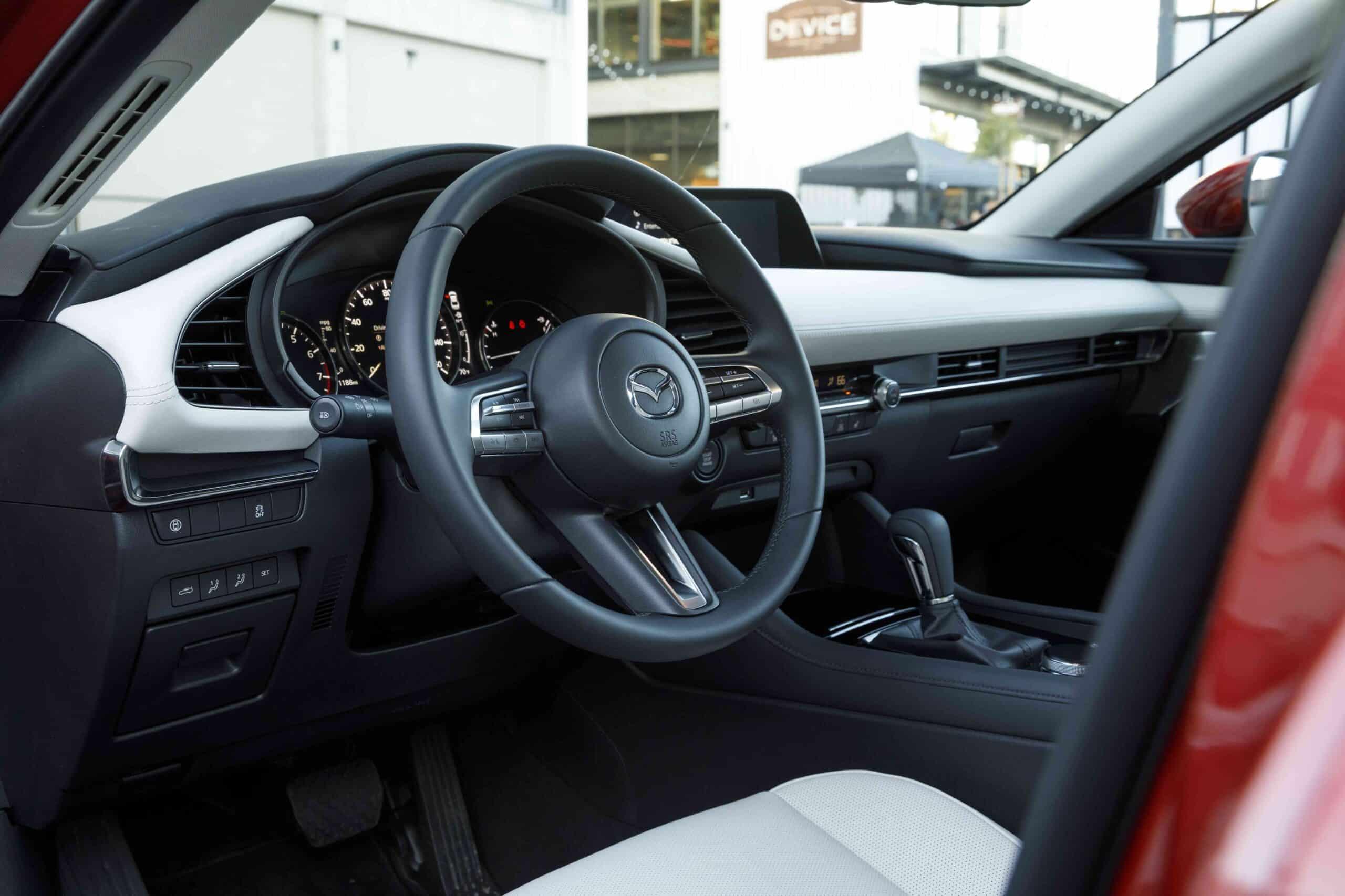 Habitacle de la Mazda3 2021