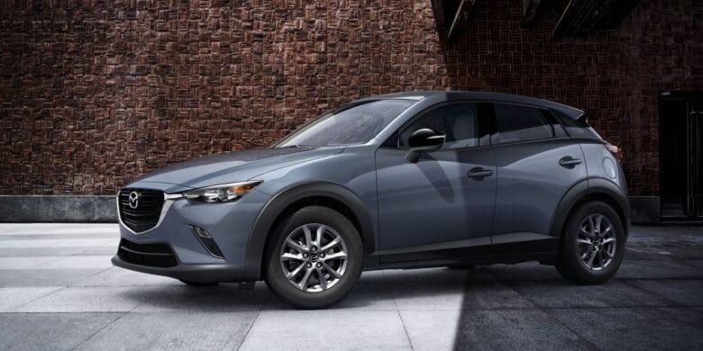 Avant du Mazda CX-3 2021, du côté conducteur